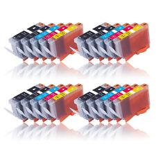 20 para CANON PIXMA IP4850 IP4950 MG5150 MG5250 MG5350 MG8150 MX885 PGI525 CLI526