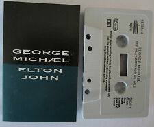 GEORGE MICHAEL ELTON JOHN DON'T LET THE SUN GO DOWN ON ME UK CASSINGLE TAPE