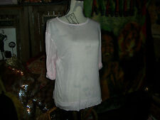 KAIN LABEL Lovely Pink Tissue Thin Blouse Size S