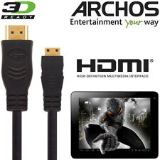 Archos 80,101 G9, 70 Titanium, Android Tablet PC HDMI Mini to TV 2.5m Cable