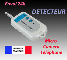 DETECTEUR DE MICRO ESPION FREQUENCE RF RADIO DE CAMERA SANS FIL TELEPHONE