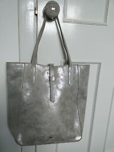 Laura ashley tote bag silver