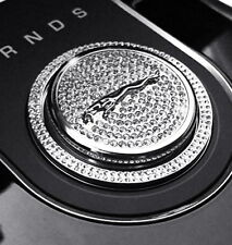 New Gear Shift Knob Selector Cover Diamond Sticker for Jaguar F-Pace XF XJ XE