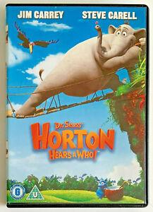 Horton Hears A Who! (DVD, 2008) Animated Comedy Adventure Film, Region 2