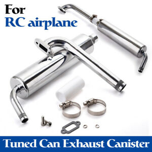 Canister Muffler Sets Exhaust Set for 23cc-30cc Engine With Hardware
