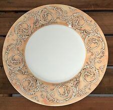 Sasaki Venetian Scroll Liora Manne Japanese Porcelain Salad Plate