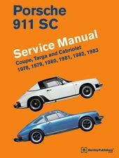 Porsche 911 SC Coupe Targa Cabriolet 1978-1983 Service Repair Manual - Bentley