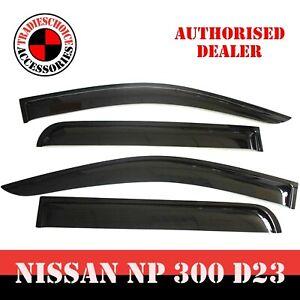 Weather Shields Weathershields shield fits Nissan Navara NP300 D23 2014-2021
