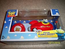 BRAND NEW! DISNEY PIXAR TOY STORY PIZZA PLANET RADIO CONTROL ROCKET!