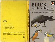 Vintage Ladybird Book: BIRDS AND HOW THEY LIVE  Natural History Series 651