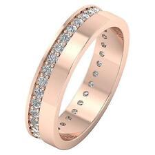 Eternity Engagement Ring Wedding Band I1 H 0.85Ct Round Diamond 14Kt White Gold