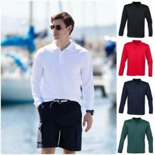 Polyester Long Sleeve Regular Size Casual Shirts & Tops for Men