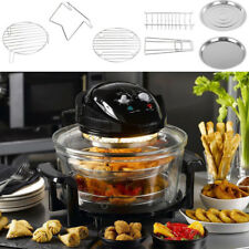 Large 17L Oil Free Low Fat Air Fryer Screen Healthy Frying Oven Halogen Cooking