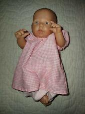 "Adorable 8"" Berenguer baby doll mini"
