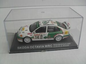IXO, - Skoda Octavia WRC Rally Car..1/43. Diecast model - ISSUE 41 DeAGOSTINI