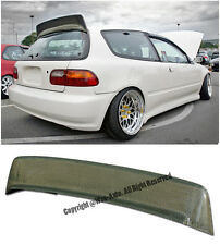 For 92-95 Civic EG6 3Dr BYS Style Yellow Kevlar Carbon Rear Roof Spoiler Wing