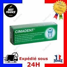 CIMADENT Pansement Ciment Dentaire Provisoire pour Dents Fragile Cariées Trouées