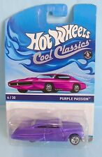 2990 HOT WHEELS / CARTE US / COOL CLASSIC 2013 / PURPLE PASSION 1/64