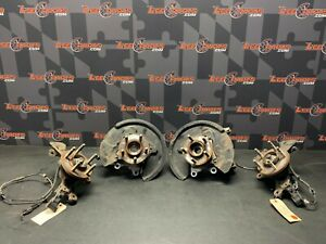 2015 FORD MUSTANG GT OEM FRONT REAR HUBS KNUCKLES SPINDLES W/ EXTENDED STUDS