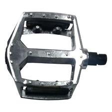 "NEW DX STYLE BMX MOUNTAIN BIKE ALLOY 9/16"" FLAT PLATFORM RETRO PEDALS RRP £24.99"