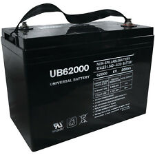 UPG UB62000 6V 200AH Battery for Champion M83CHP06V27 Golf Cart RV Boat