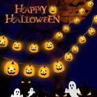 TOFAR Halloween String Lights, LEDs Pumpkin Lights Battery Powered, Waterproof H