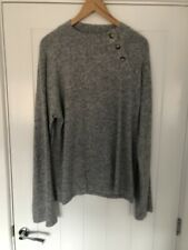 Vero Moda Tall At ASOS, Grey Jumper With Bell Sleeves Size Large