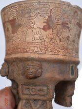 "Sale! Pre Columbian Mayan/Olmec Crypt Bowl 3"" Prov"