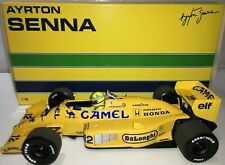 1:18 Minichamps Ayrton Senna Lotus 99T Monaco GP Win 1987 - CAMEL Livery 1002pcs