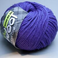 Lana Grossa Mc Wool Merino Mix 100 - 112 violett 50g Wolle (5.90 EUR pro 100g)