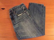American Eagle Outfitters Jeans Women's Size 6 Regular Boy Fit Distressed Denim
