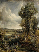John Constable: The Vale of Dedham. Fine Art Print/Poster