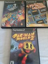 PlayStation 2 Games (Lot Of 3)  Pac-Man World 2, Sly 3,& Midway Arcade Treasures