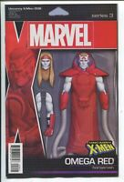 Uncanny X-Men #6 Omega Red Action Figure Variant Marvel Comic 1st Print 2019 NM
