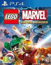 LEGO Marvel Super Heroes | PlayStation 4 PS4 New