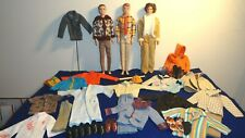 VINTAGE KEN DOLL LOT DOLLS CLOTHES SHOES CLEAN REPAIRED VERY GOOD COND. NO WORK