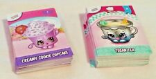 Shopkins Season 5-6 Collector Cards - Commons 1-81 25c per card. See description