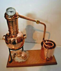 """gebrauchte Dr. Richter Destille, Modell """"Kalif"""" Aromakorb und Thermometer 0,5 L"""
