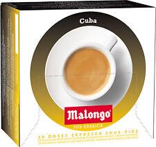 Malongo Espresso  400 Pads, Pods ,Cafe,Kaffee,Expresso, 1,2,3 Spresso