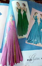 VTG 1930s McCALLS MAGAZINE Fashion Sewing Pattern Catalog Womens Interest 1939