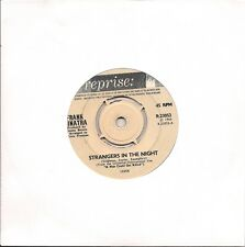 """Frank Sinatra Strangers In The Night UK 45 7"""" single +My Kind Of Town"""