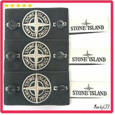 GENUINE STONE ISLAND BADGE X3, WHITE GLOW SPECIAL, BUTTONS, LABEL. JUMPER DRAKE