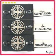 ORIGINALE BADGE STONE ISLAND X3, White Glow speciale, bottoni, etichetta. Maglione Giacca