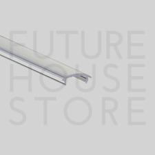 Cubierta Transparente Lente Transparente canal de extrusión de aluminio de perfil P1 P2 P3 P4 1m