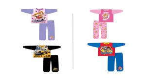 Boys Girls Toddler Kids Pyjama Sets Long Sleeve OFFICIAL MERCHANDISE
