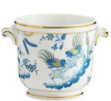 Oro di doccia Turchese Vaso cachepot Piccolo porcellana Richard Ginori