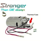 For Benz CL500 CL600 S430 Vacuum Supply Pump Air Supply Motor & Metal Ring Set