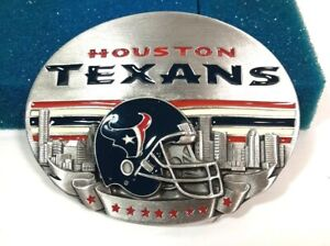 Houston Texans Belt Buckle Siskiyou Buckle Co. 2002 new