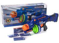 17'' Blaze Storm Semi-Auto Soft Bullet Electric Gun Nerf Style 6+ 20 Foam Bullet