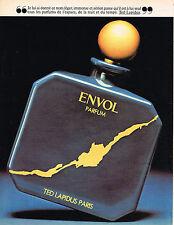 PUBLICITE ADVERTISING 114  1981  TED LAPIDUS     parfum homme  ENVOL